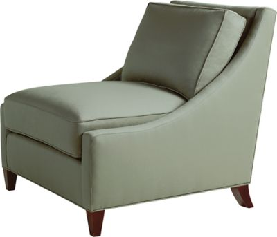 Curved Back Lounge Chair by Barbara Barry 88333 Baker Furniture