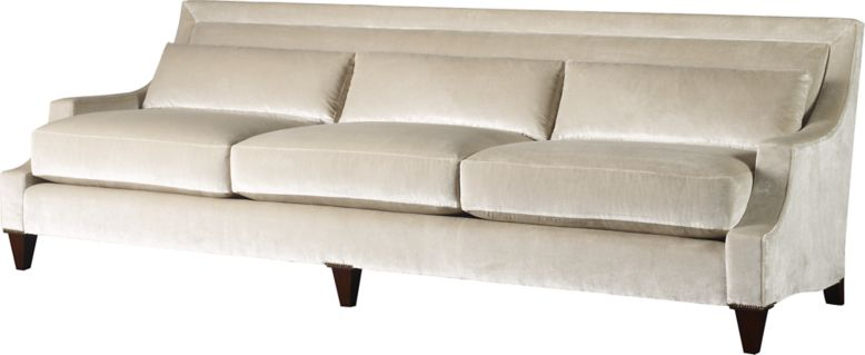 Max sofa by thomas pheasant 6130s baker furniture for Baker furniture sectional sofa