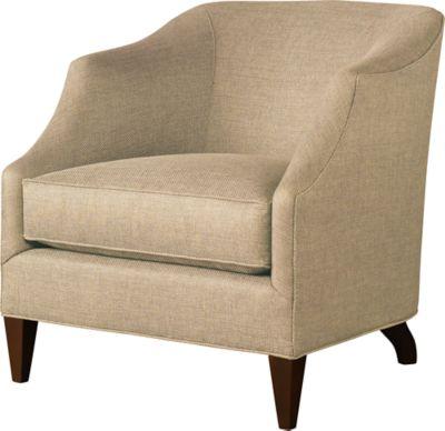 Butterfield Barrel Chair By Baker Classics Upholstery   6948C | Baker  Furniture