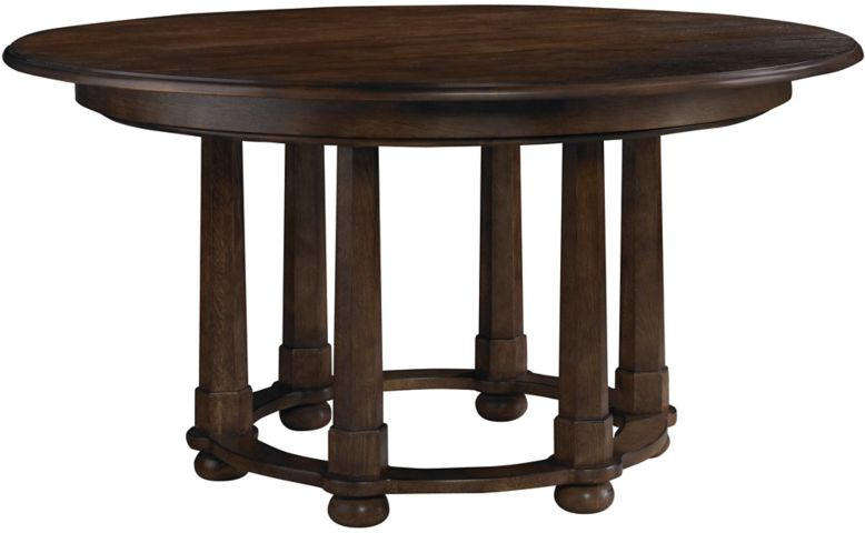 Morris Round Dining Table by Michael S Smith - 9837 | Baker Furniture