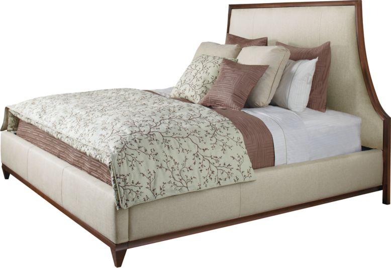 Lyric king bed by barbara barry 3624k baker furniture for Barbara barry bedroom furniture