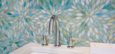 Expanding On Our Ever Popular Beau Monde Stone Mosaic Program, We Are Proud  To Offer A Variety Of Beautiful Patterns In Exquisite Art Glass.