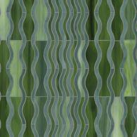 ava mosaic in jade and aventurine