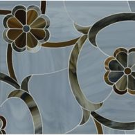 delilah mosaic in lavastone, pearl, and tortoise shell