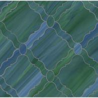 grace mosaic in peacock topaz