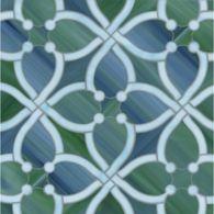 june mosaic in amazonite and peacock topaz
