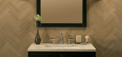 """1-3/4"""" x 8"""" field in polished finish"""