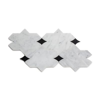 Benton Aletta with Carrara & Nero Marquina