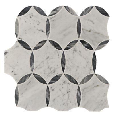 Benton Circles with Bardiglio & Carrara