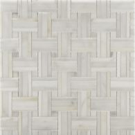 tri-weave mosaic in honed finish