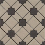 "6"" x 6"" mci-76 decorative tile in mp14 and mp24 colors"