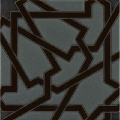 "6"" x 6"" mcq-19 decorative tile in mp172, mp85 and mp37 colors"