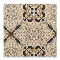 "6"" x 6"" mcq-2 decorative tile in mp13, mp126, mp172, mp41 and mp27 colors"