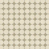 circle 2 in ivory cream and lagos gold