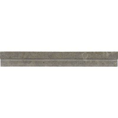 "1-3/16"" x 12"" contemporary chair rail molding in honed finish"