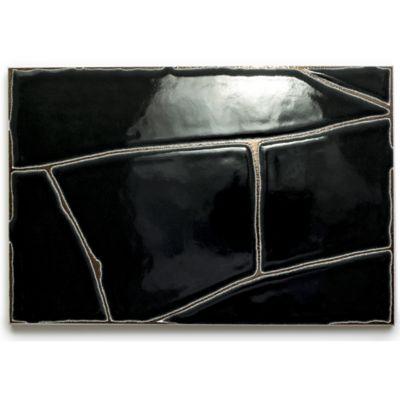 """8"""" x 12"""" square in black"""