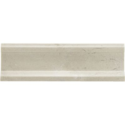 "2-3/8"" x 8"" plaza molding in honed finish"