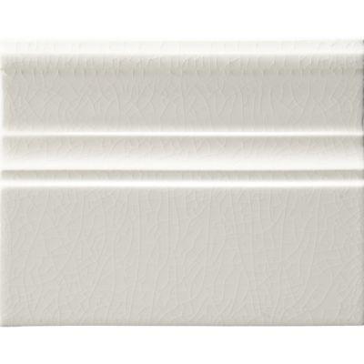 "4-3/4"" x 6"" base trim in white crackle"