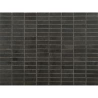 """1/2"""" x 1-5/8"""" stacked mosaic in honed finish"""