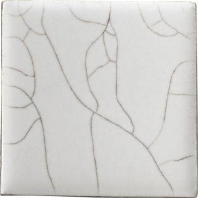"4"" x 4"" field in vanilla white crackle"
