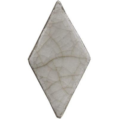 "1-3/4"" x 3-1/2"" small diamond field in light sand crackle"