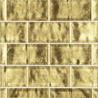 """3"""" x 6"""" field in antique goldleaf"""