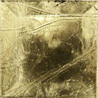 """3"""" x 3"""" field in antique goldleaf"""