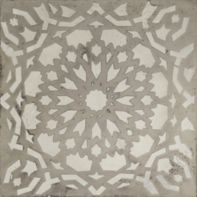 "10"" x 10"" mamounia field in argent"