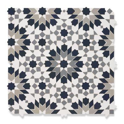 Guercif mosaic in grey blend