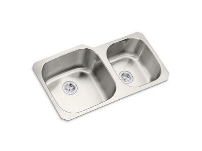 Kitchen Sink Extra Large/Medium Two Bowl