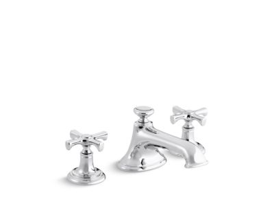 Sink Faucet, Noble Spout, Cross Handles