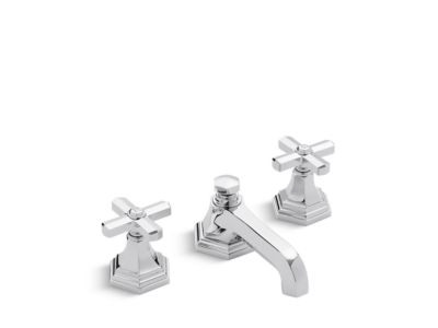 Sink Faucet, Low Spout Cross Handles