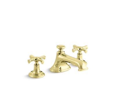 Sink Faucet, Noble Spout, Cross Handles