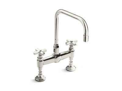 Kitchen Faucet, Cross Handles