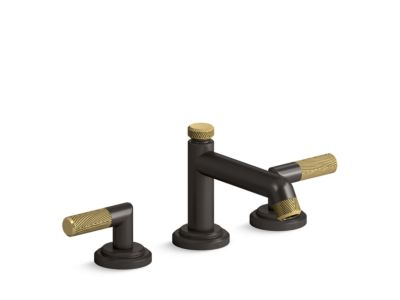 Sink Faucet, Low Spout, Lever Handles