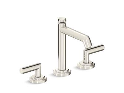 Sink Faucet, Tall Spout, Lever Handles