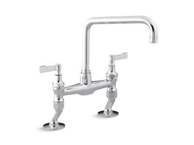 Kitchen Faucet, Lever Handles