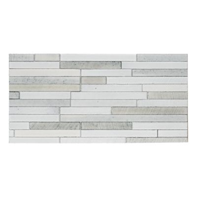 lava calda stick mosaic in white blend