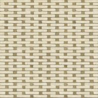 loom in ivory cream and travertine noce