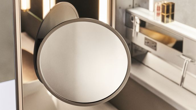 In-Cabinet Magnification Mirrors