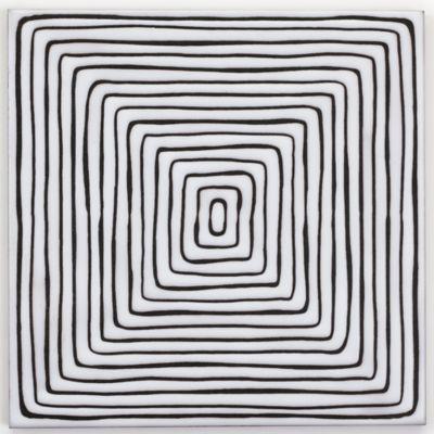 """Maven Concentric 8"""" x 8"""" field in Matte White"""