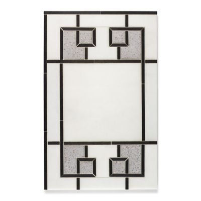 Rhone mosaic in lorca white, castlerock and amsterdam