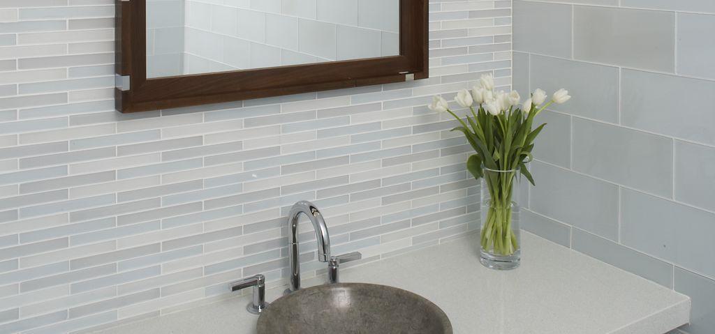 Ann Sacks Glass Tile Backsplash Metro Nuovo  Ann Sacks Tile & Stone