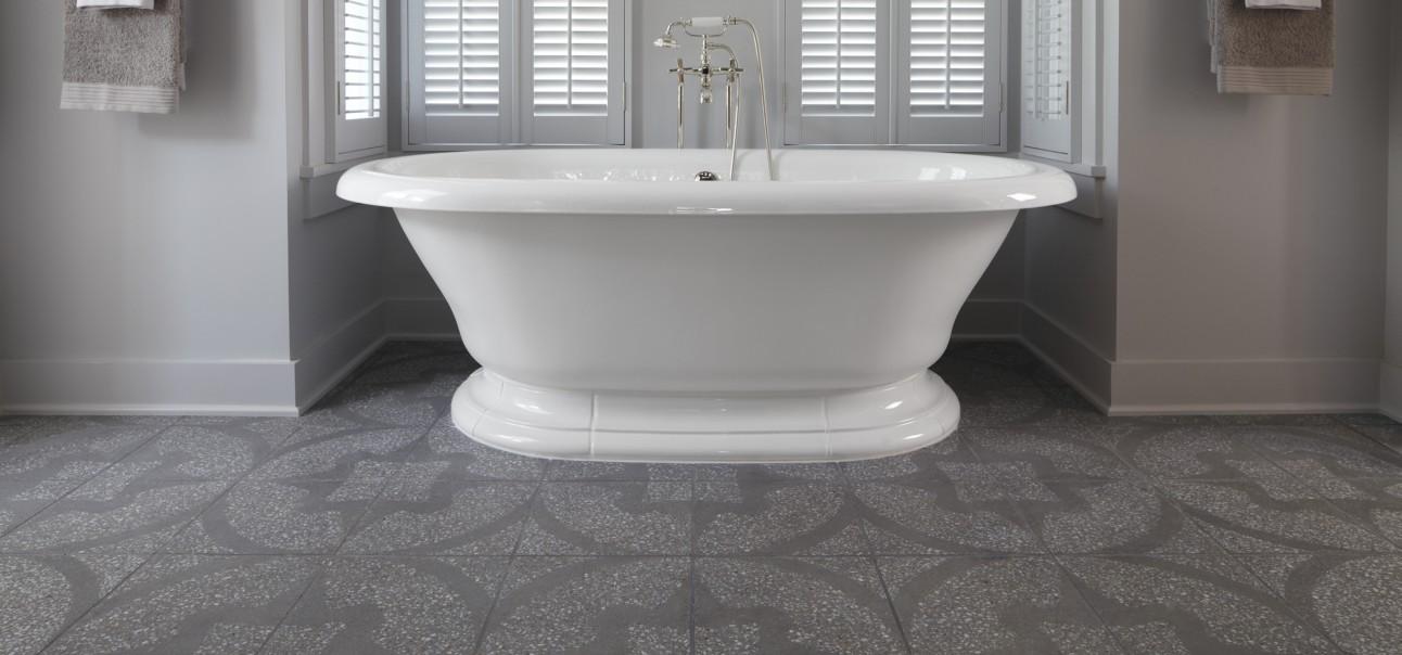 Andy Fleishman Neo Terrazzo ANN SACKS Tile Stone - 8 x 12 bathroom tiles