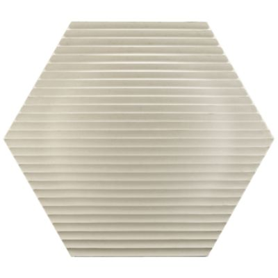 "15-7/8"" x 18-1/4"" optic hex field in white"