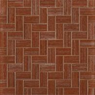 """1"""" x 2"""" herringbone mosaic in jambalaya"""