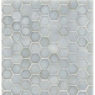 "3/4"" hexagon mosaic in bluemoon irid"