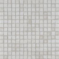 "3/4"" stacked mosaic in whitecap irid"