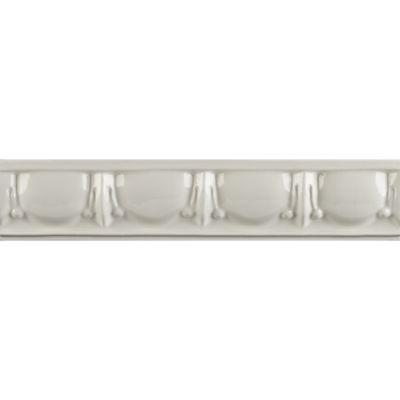 """1-3/4"""" x 8"""" egg & dart liner trim in bright white gloss"""