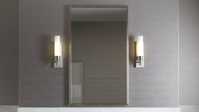 pl x cabinet w h mirrored flat door p series robern